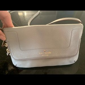 Kate Spade Polly Small Crossbody - Taupe color